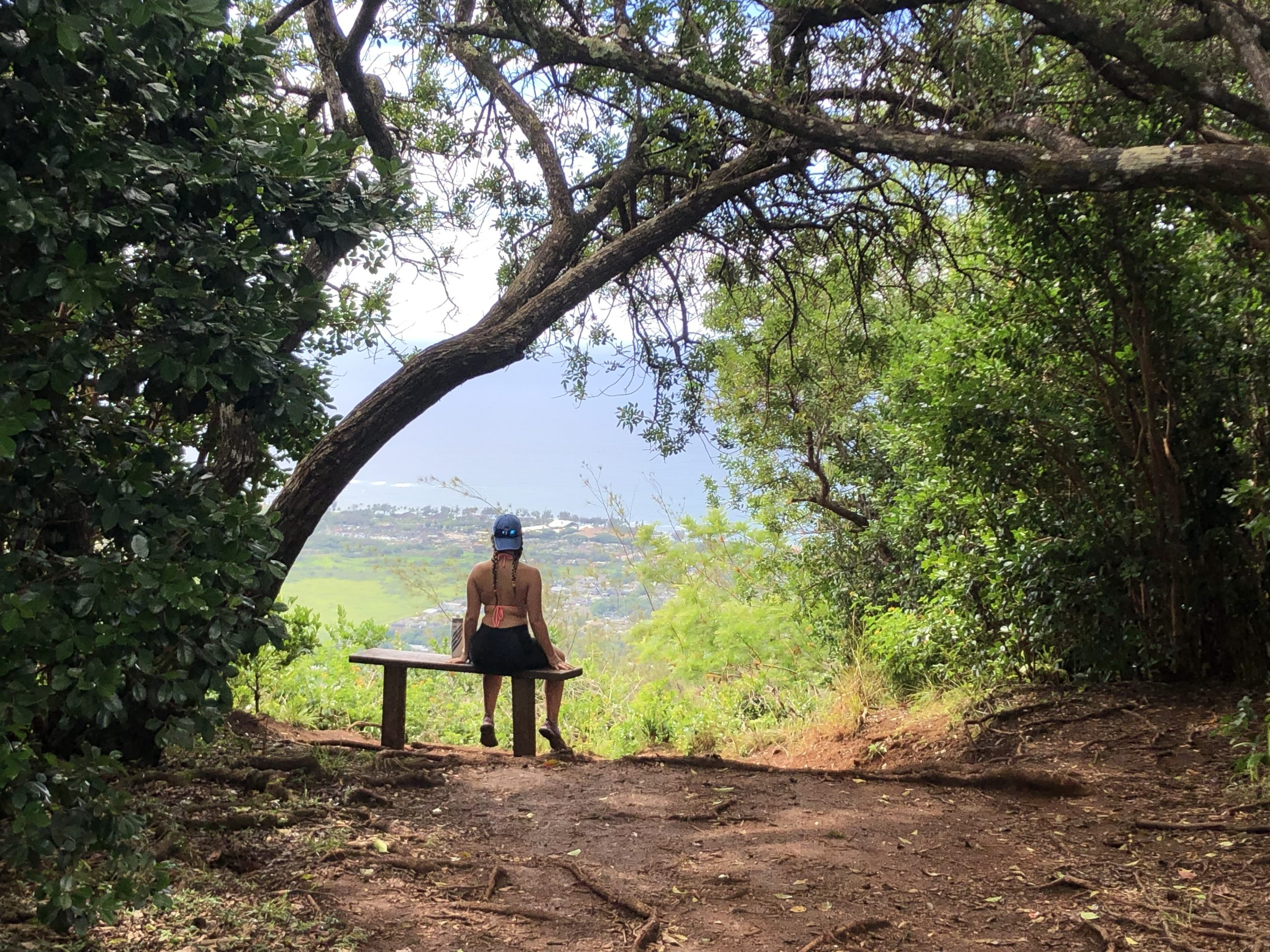 Hiking Up Sleeping Giant – Kauai, Hawaii