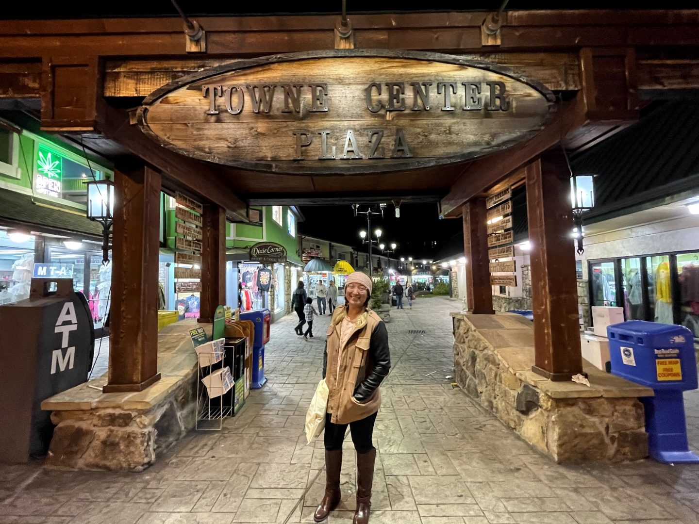 Shopping in downtown Gatlinburg, Tennessee
