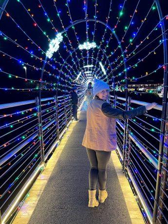 Gatlinburg SkyLift Park suspension bridge