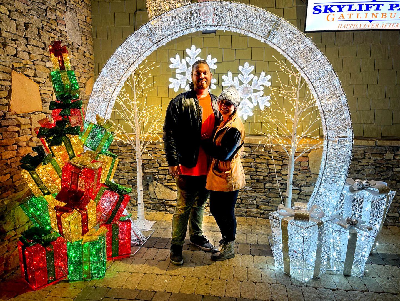 Gatlinburg SkyLift Park Christmas Lights
