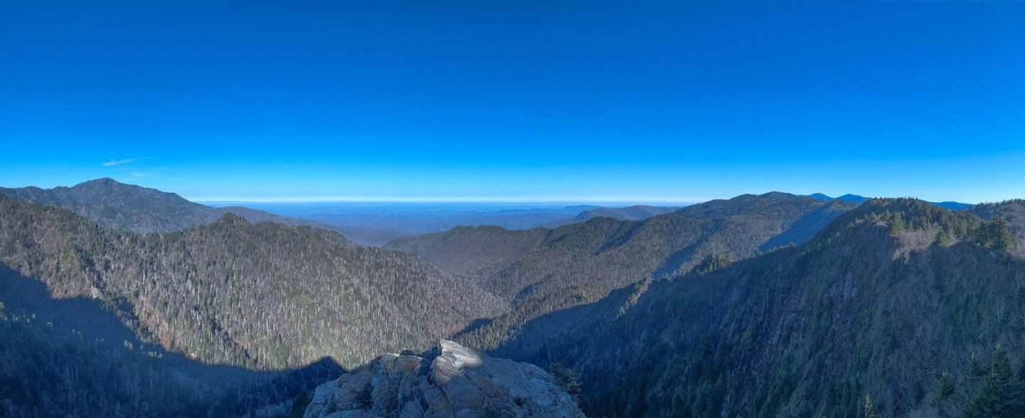 View in Great Smoky Mountain National Park