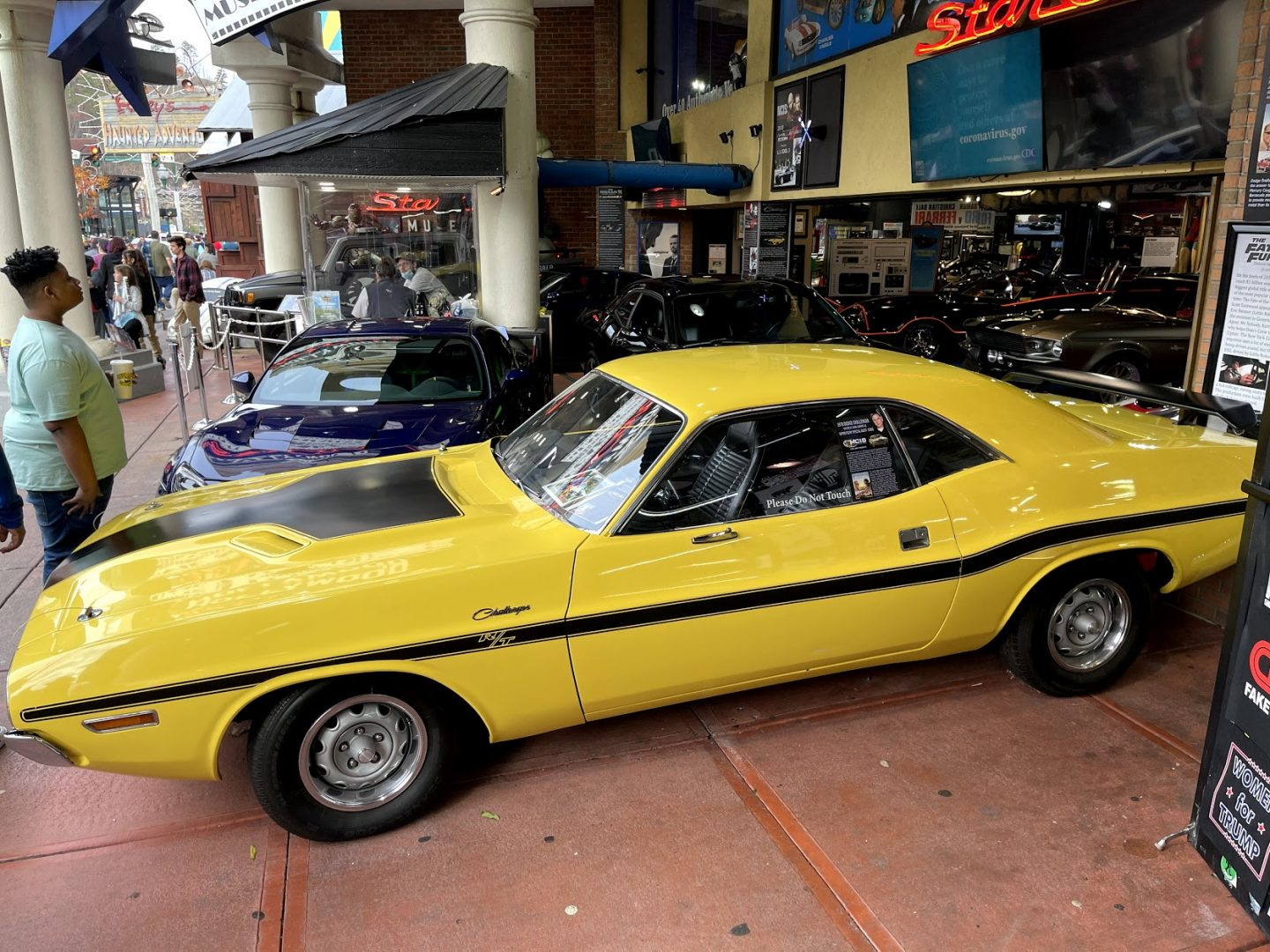 Hollywood Star Cars Museum in downtown Gatlinburg, Tennessee