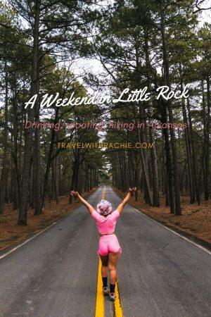 Pinterest pin for Little Rock