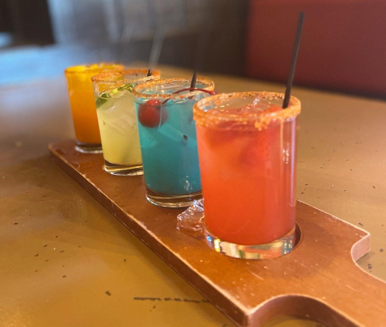 Drinks at Diablos in Little Rock, Arkansas