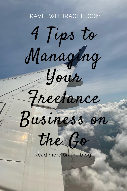 Pinterest pin for freelance management tips