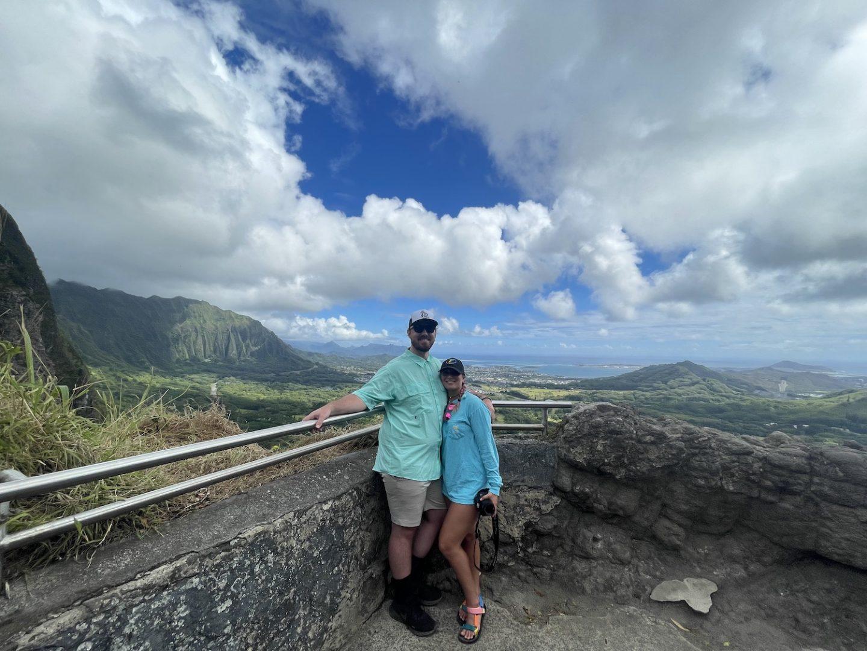 Oahu scenic overlook