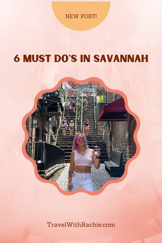 Savannah Pinterest Pin