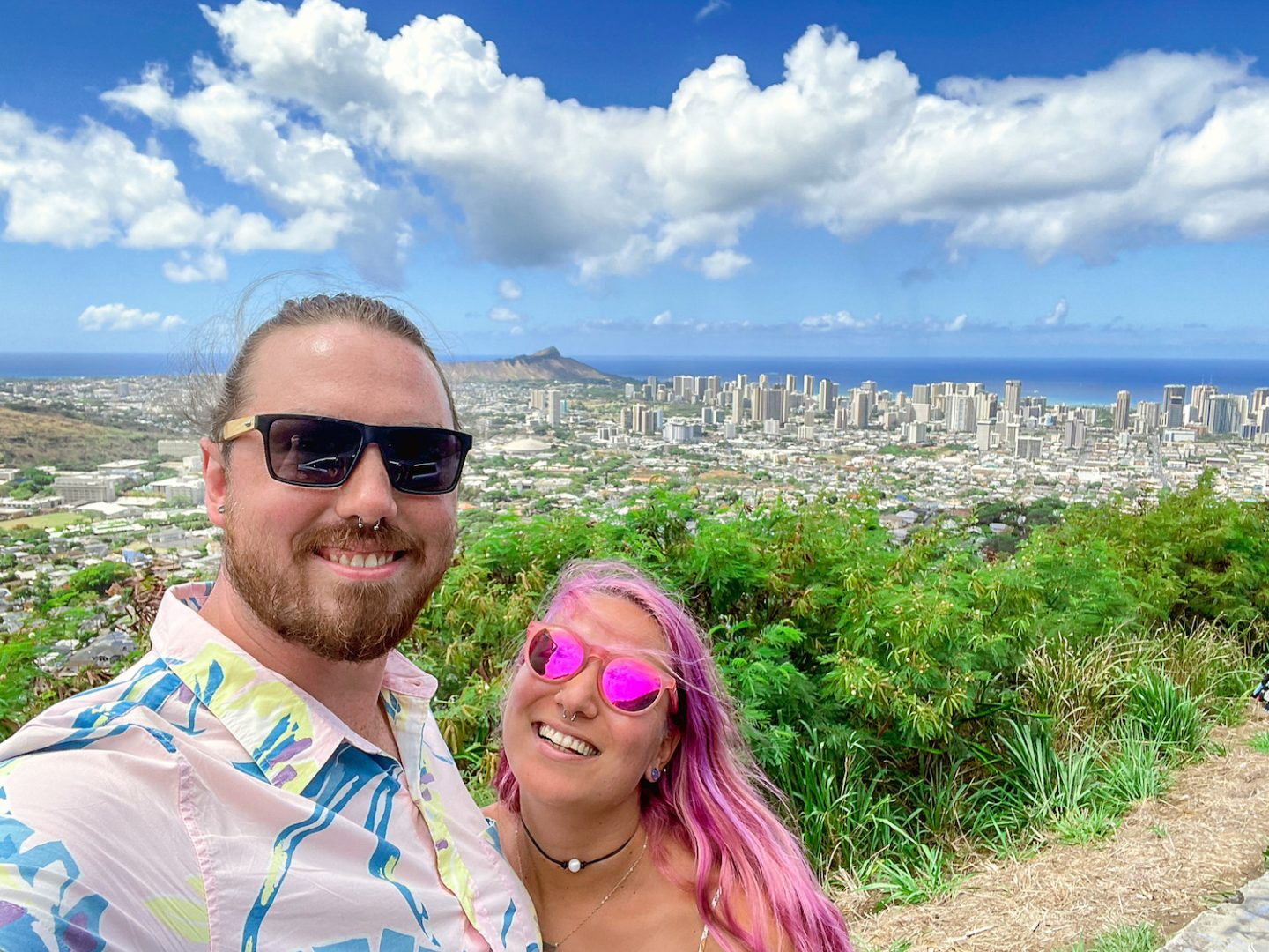 Round Top Forest Viewpoint Scenic Spot Oahu