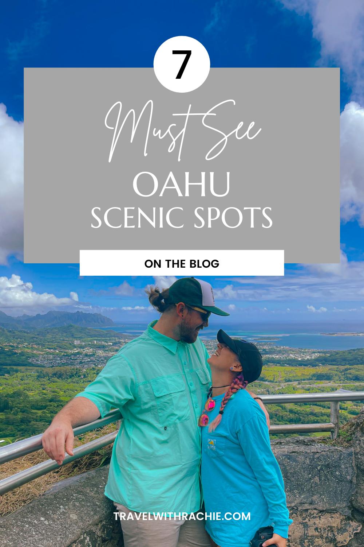 Scenic Spots Oahu Pinterest Pin