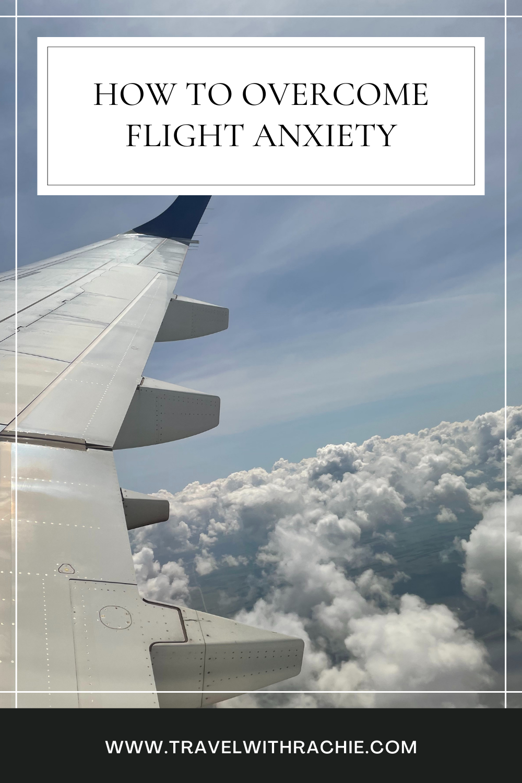 Flight anxiety pinterest pin